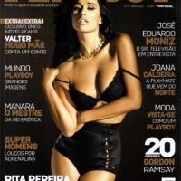 Rita Pereira na Playboy de Maio