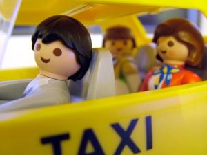 Multas para quem vomitar nos táxis...