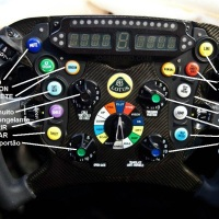 F1: volante de Raikkonen até dá gelados!