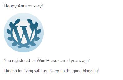 6 anos do blogue