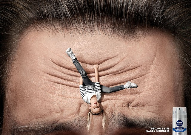 Nivea Men: Because Life Makes Wrinkles