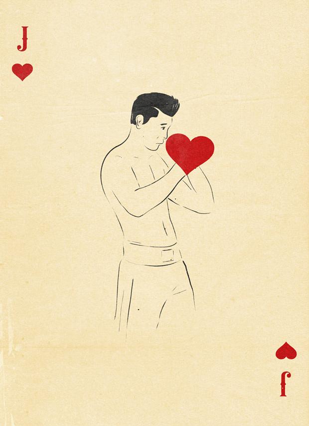 Jack of hearts.