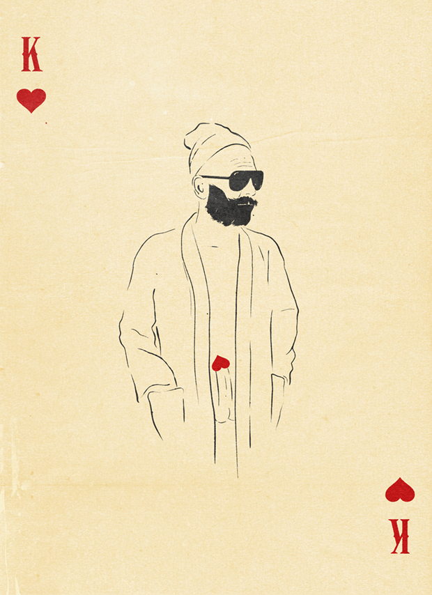 King of hearts.