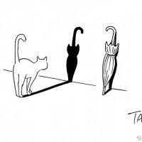 Minimalist Black and White Illustrations by Shanghai Tango