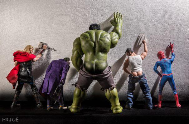 The Secret Life Of Superhero Toys - Photo © Edy Hardjo