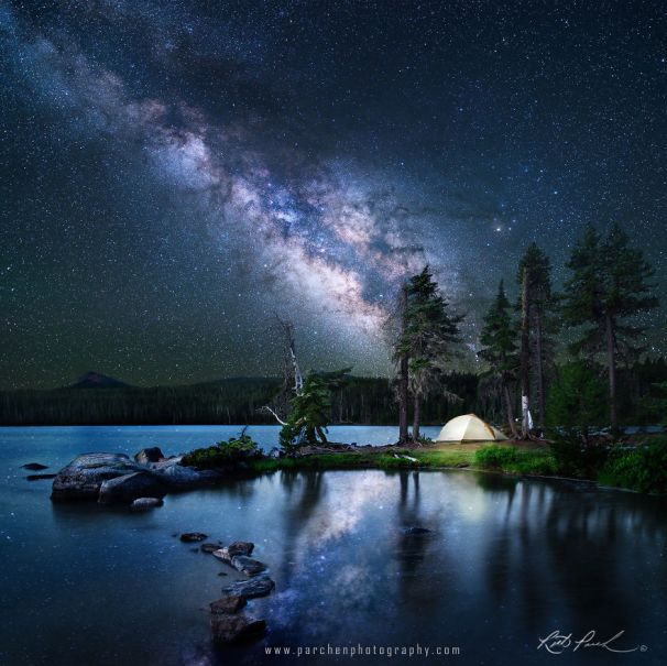Find Your Happy Place (Central Cascade Mountains, Oregon, USA) - Photo © Rick Parchen