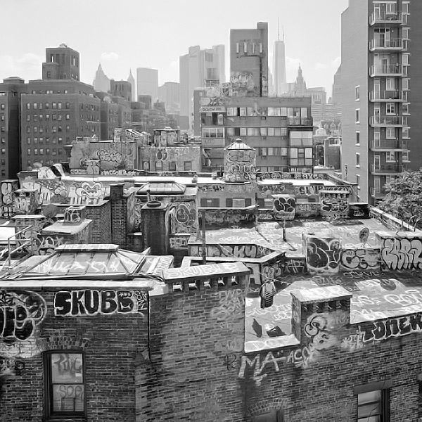 Roofscape NYC (New York Series) - Photo © Phillip Jones