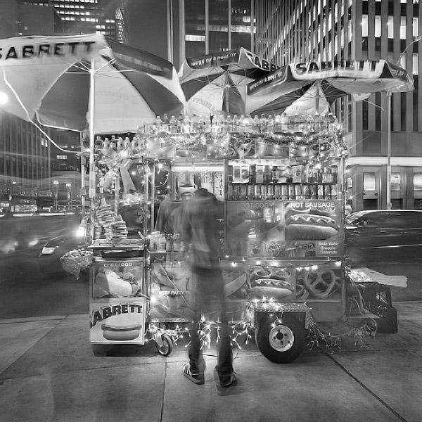Street Vendor (New York Series) - Photo © Phillip Jones
