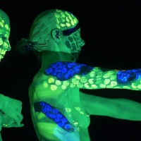 The UV Chameleon by Johannes Stoetter (nude content)