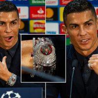 Cristiano Ronaldo: relógio Caviar Tourbillon, 1,8M€