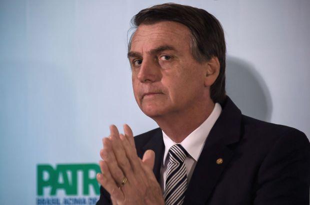 BRAZIL-ELECTION-CANDIDACY-BOLSONARO
