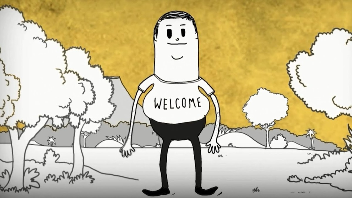 Man - short film by Steve Cutts