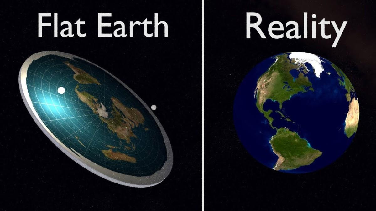 A Terra é plana ou redonda?